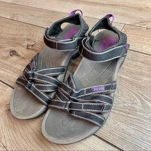 Teva | Purple Adjustable Sandals | 7.5